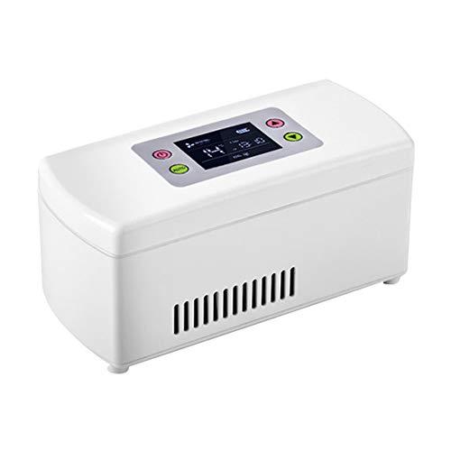 Car refrigerator Insulin KüHler/Tragbarer Kleiner KüHlschrank des Autos, Haushaltsdroge Inkubator, Kann Interferon/Serum/Augentropfen/Intelligente TemperaturüBerwachung 2-8 ° C Speichern