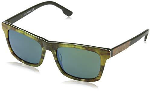 Diesel - Gafas de sol - Lamer completa - para hombre, Azul Marino, 54