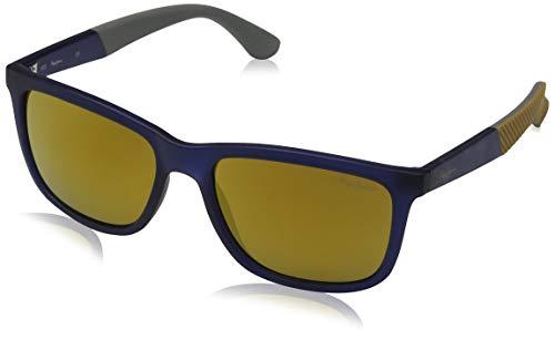 Pepe Jeans Titan Gafas de sol, Azul (Blue/Brown), 54.0 Unisex Adulto