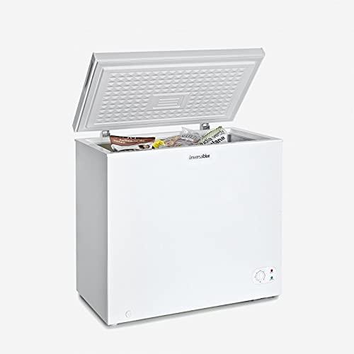 UNIVERSALBLUE - Congelador Dual - Volumen 200 litros - Congelador eficiencia energética A+ - Congelador Vertical - Congelador Arcón 2 en 1
