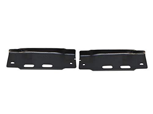 Bundle For 92-96 Ford F150 F250 F350 Bronco Front Bumper Bracket Set=Lh & Rh FO1067108 FO1066108