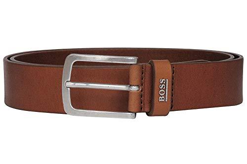 BOSS JOR-Logo_Sz35 Cinturón, Medium Brown210, 120 cm para Hombre