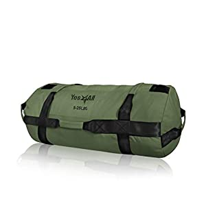 Yes4All Sandbags – Heavy Duty Sandbags for Fitness, Conditioning, Crossfit – Multiple Colors & Sizes
