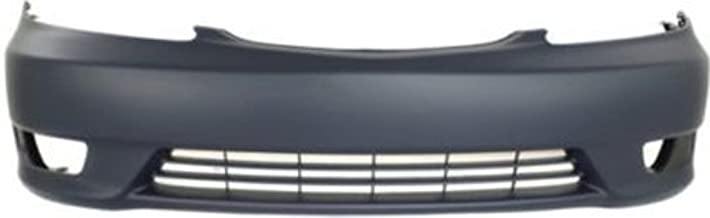 Crash Parts Plus Primed Front Bumper Cover Replacement for 2005-2006 Toyota Camry