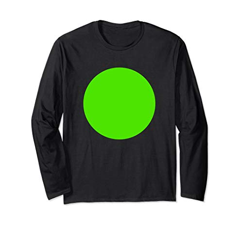 Green Screen Design Chromakey Foto Videoeffekt Langarmshirt