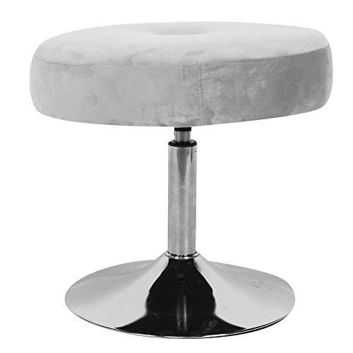 Taburete Moderno De 360 Grados Rotativo Ajustable Ajustable Vanity Taburete Muebles para Baño Dormitorio Grado