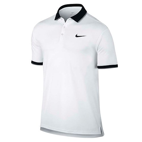 Nike Dry Polo T-Shirt Team Homme, White, FR (Taille...