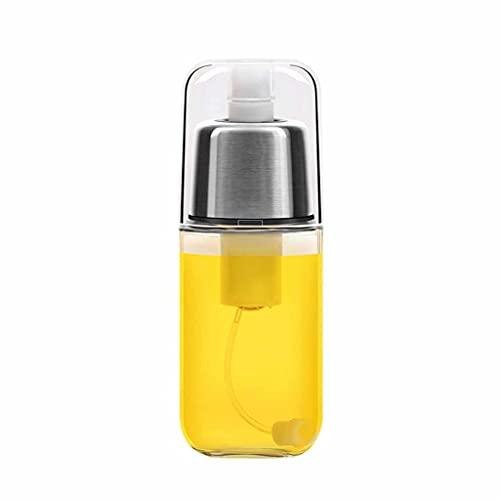 SMEJS Ölsprüher zum Kochen von Öl Spray Mister Pumpe Flasche Olivenöl Nebelsprayer 200ml Glasflasche