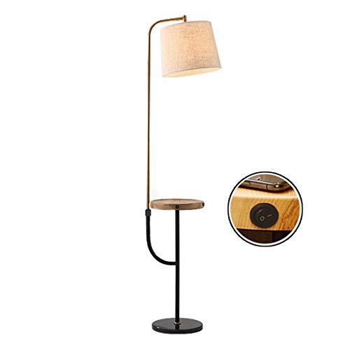 Lámpara de pie for mesa auxiliar con puerto USB adjunto for el...