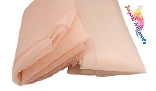 Mono Silky Lace Tissu monofilament pour fabrication de perruque, 1 Yard