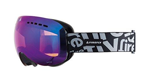 Firfly Snowboard Ski Brille Ten-One polarisierende Spiegeldoppelscheibe schwarz