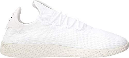 adidas PW Tennis Hu, Zapatillas de Gimnasia para Hombre, Blanco (FTWR White/FTWR White/Chalk White FTWR White/FTWR White/Chalk White), 36.5 EU