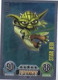 Amazon.com: Star Wars Force Attax - Star Jedi Card - 154 ...