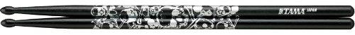 Tama TAMA-O7A-S-BS - Baqueta (mediano, 15.35 pulgadas de longitud, roble japonés), color negro