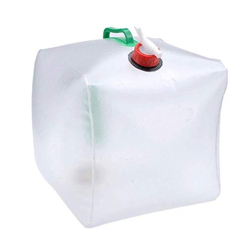 Farrom Apilables Depósito Agua Mochila Gran Capacidad Portátil Depósito Agua Hervidor Cubo...