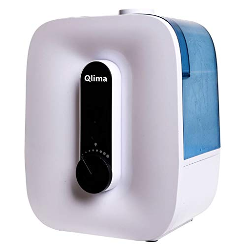 Qlima H 408 - Humidificador (23 W, Corriente alterna, 220 - 240 V, 50 - 60 Hz, 182 mm, 259 mm)