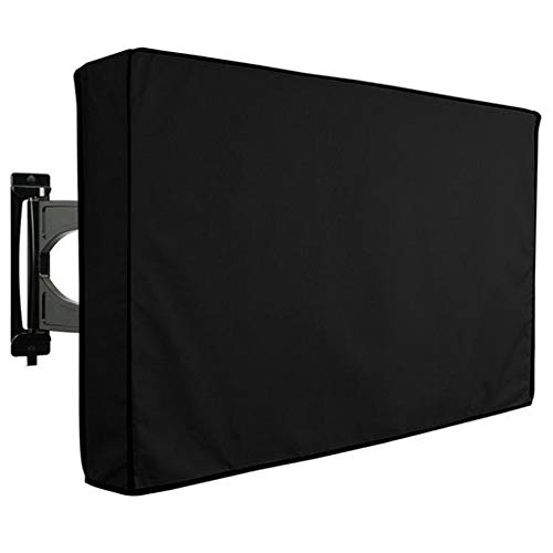 Bayda Cubierta de TV para exteriores de 40-42 pulgadas con cubierta inferior resistente a la intemperie a prueba de polvo proteger LCD LED Plasma Televisión TV cubierta