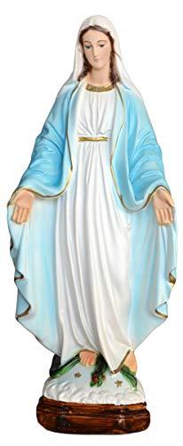 Generico Statua Madonna Immacolata in Resina cm. 35 per Interni ed Esterni Made in Italy