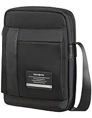 """Samsonite Openroad Tablet Crossover 9.7"""" Borsa Messenger, 29 cm, Nero (Jet Black)"""