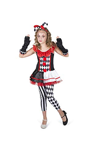 Karnival Costumes 84543 - Disfraz de arlequín para Halloween, multicolor, XL