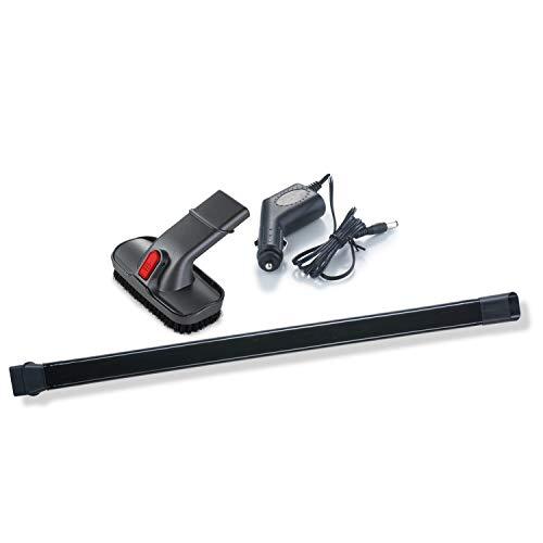 Genius Invictus One Zubehör-Set (3 Teile) KFZ-Adapter + Fugendüse + Kombi-Bürste als Komplettpaket für effizientere und schnellere Reinigung