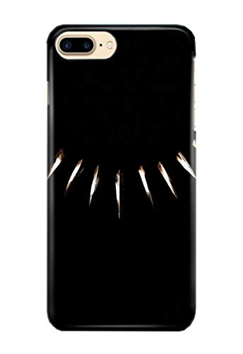 Hülle Me Up Handy Hülle für iPhone 7+ [Plus] Black Panther T'Challa Superhero Marvel Comics 11 Designs