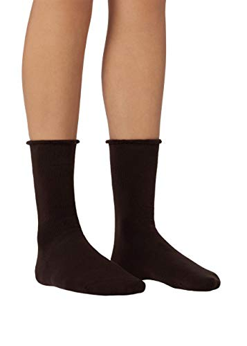 Calzedonia Damen Lange Socken aus Thermo-Baumwolle