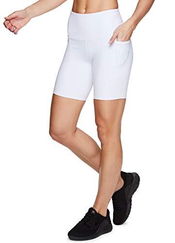 RBX Active Women's 7' Solid Ultra Hold High Waist Squat...