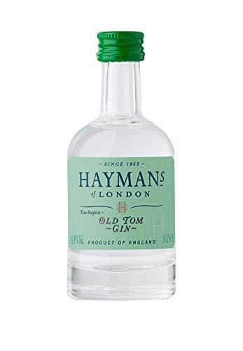 Hayman's Old Tom Gin 50 ml Noten von Earl Grey World Gin Awards Gold 2019 intensive Wacholdernoten im Geruch frische Zitrusnoten typische, leichte Süße