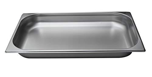 Gastro-Bedarf-Gutheil Gastronormbehälter GN Behälter 1/1 65 mm Tief stapelbar Edelstahl Geeignet für Chafing Dish, Bain Marie, Saladette
