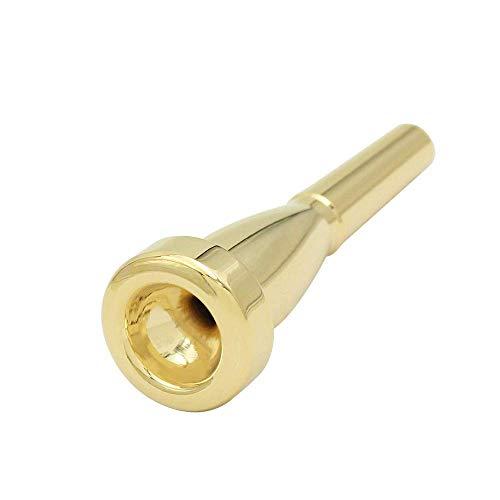 Trompete Mundstück Trompete Mundstück Kupfer Gold für Yamaha oder Bach Conn King Trompete
