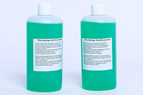 Staubsaugerladen.de 2X Universal Reinigungsmittel-Konzentrat geeignet für Vorwerk Saugwischer Kobold SP520 530 600- Garantiert perfekte Reinigungsleistung - Premium Qualität