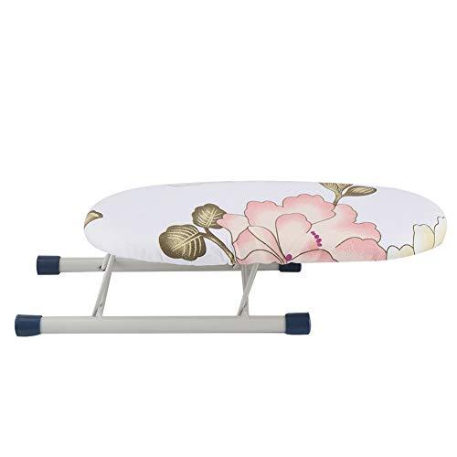 Strijkplank Opvouwbare Ruimtebesparende Mini Strijkplank Home Travel Sleeves Manchetten Kraag Handling Tafel (Peony)