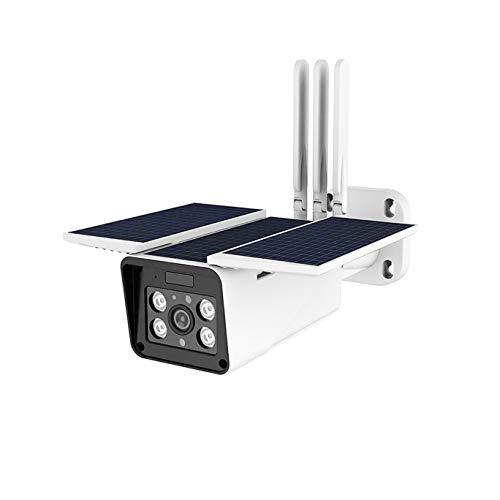 XJJZS Cámara Solar al Aire Libre cámara de Seguridad a Prueba de Agua Solar cámara de vigilancia de visión Nocturna