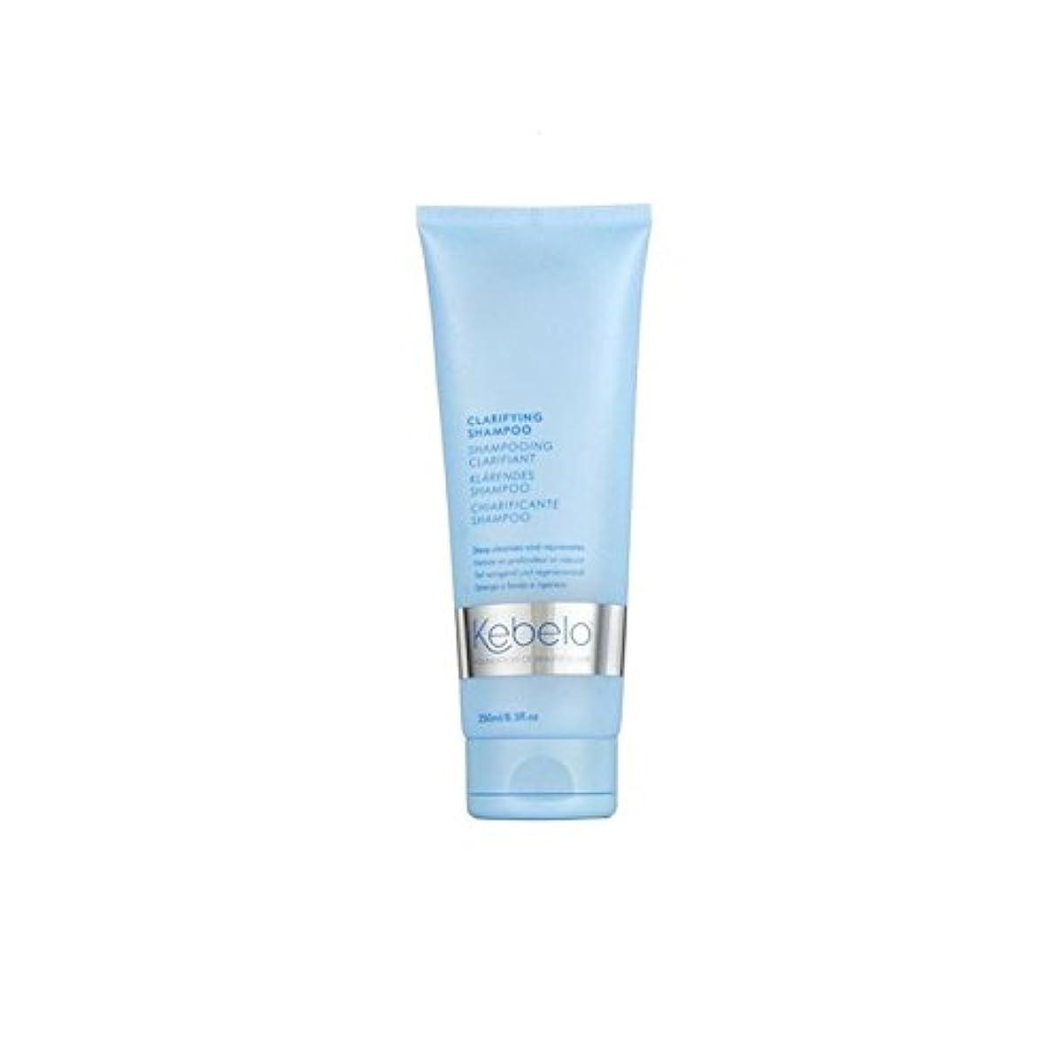 ペンフレンド義務づける単語Kebelo Clarifying Shampoo (250ml) (Pack of 6) - 明確化シャンプー(250ミリリットル) x6 [並行輸入品]