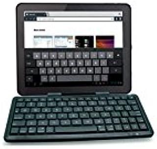 Funda Universal Super Fina Slim//Teclado con SUJECCION MAGNETICA Negra para Tablet//iPad//EBOOK 9-10 Teclado Bluetooth Phoenix PHKEYBTCASE9-10