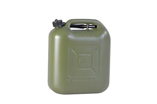 Preisvergleich Produktbild Kraftstoff-Kanister STANDARD 20l für Benzin,  Diesel und andere Gefahrgüter,  UN-Zulassung,  made in Germany,  TÜV-geprüfter Produktion,  oliv
