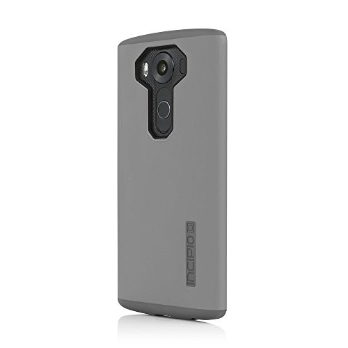 Incipio Cell Phone Case for LG V10 - Retail Packaging - Gray/Gray