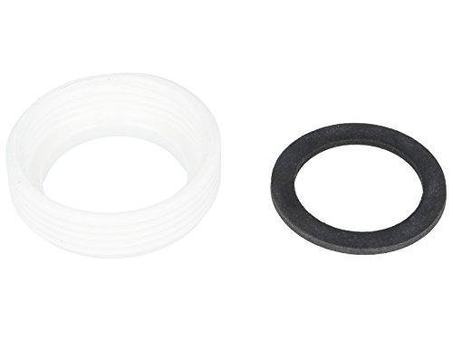 tecuro Reduzierstück Adapter für Siphon-Ablauf 1 1/4 Zoll IG x 1 1/2 Zoll AG
