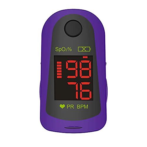 Oxímetro de pulso de dedo ChoiceMMed, MD300C13, oxímetro para la medición rápida de la frecuencia cardíaca y saturación de oxígeno (SpO2), dispositivo de monitoreo fisiológico simple y duradero