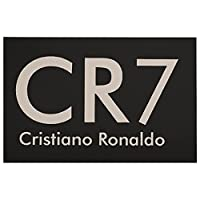 Cristiano Ronaldo CR71 足ふき マット 玄関マット 速乾 吸水性 滑り止め 洗濯機 キッチン 浴室 洗面所 付 防ダ デオドラント ファッションマット 長方形23.6x15.7in