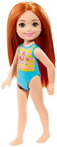 Barbie Mattel GLN72 - Muñeca Chelsea con diseño de flamenco