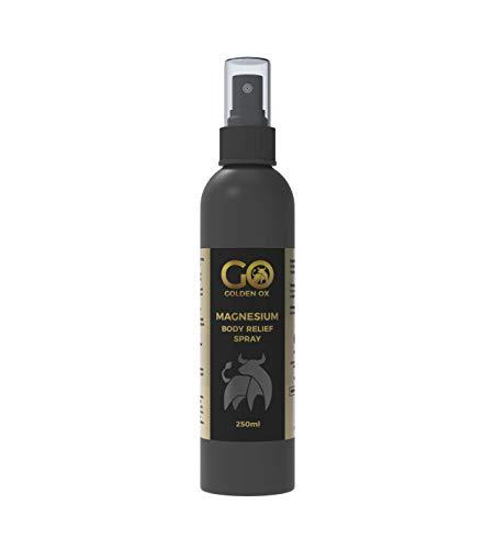Magnesium Spray - Golden Ox 250ml - Non-Oily - Ease Activation