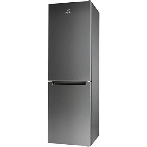 Indesit XIT8 T2E X Kühl- und Gefrierkombination Freistehend Edelstahl 320 l A++ - Kühlschrank (320 l, Anti-Frost-Funktion (Kühlschrank), SN-T, 4 kg/24h, A++, Edelstahl)