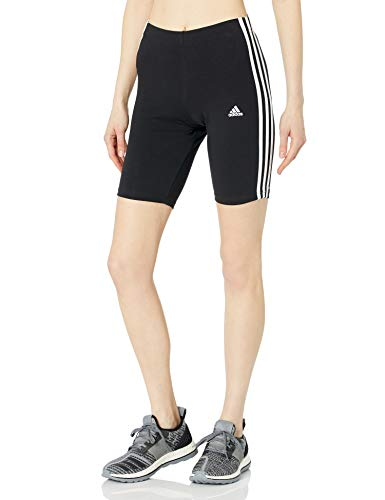adidas womens 3-Stripes BK Shorts Black/White X-Large