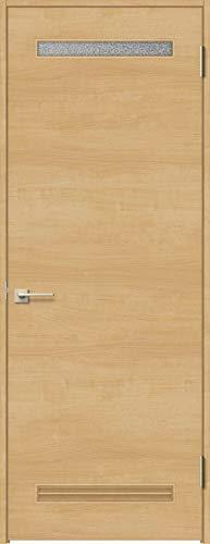ラシッサS 標準ドア ASTH-LYB 錠付き 05520 W:648mm × H:2,023mm 吊元:左吊元 本体色/枠色:クリエペール(PP) 枠種類:ノンケーシング95(壁厚:64-75) 沓摺:埋込沓摺(A枠) 把手:サークルB 鍵種類:丸型シリ