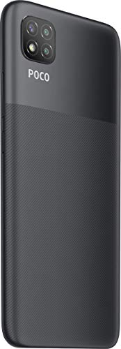 (Renewed) Poco C3 (Matte Black, 4 GB RAM /64 GB Storage)