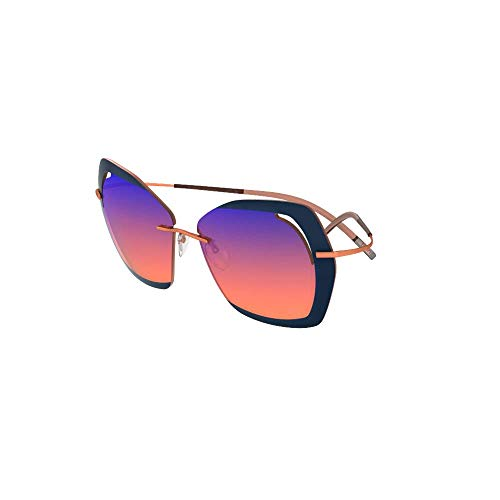 Sonnenbrillen Silhouette PERRED SCHAAD 9910 VIOLET COPPER/VIOLET SHADED Damenbrillen