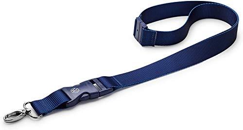 Volkswagen 000087610AH530 Lanyard - Cinta para llaves, color azul