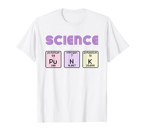 Science Punk おもしろ化学成分チャートTシャツ Tシャツ